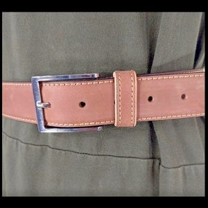 """GP & Max Italy leather belt size small 34""""length."""